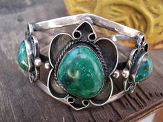 Vintage Old Pawn Native American Jewelry by PurpleSageTreasures