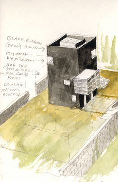 Tower of Silence - Steven Holl Architects Steven Holl Architecture, Concept Models Architecture, New York Architecture, Architecture Drawings, Architecture Design, Alvar Aalto, Tower Of Silence, Plan Sketch, Model Sketch
