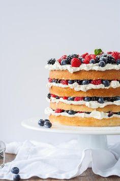 Very Berry Layer Cake