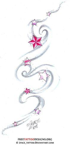 Star tatt: Wish upon a star tattoo