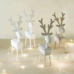 Petit idée pour Noël #pinterest #noel#cerf#deco#diy