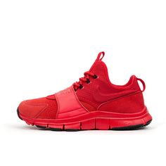 b6800593f Nike Free Ace LTHR University Red Black. Available at Concrete Store  Prinsestraat The Hague