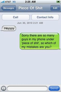 LOL this reminds me of one of my exs! He even said Heyyy when he texted me!
