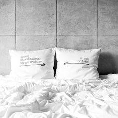 poszewki na poduszki - wracaj do łóżka w White Place na DaWanda.com