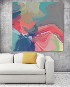 Abstract melody 2. Original Oil Painting on Canvas