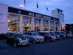 Ace Cafe London- really want to do this one day