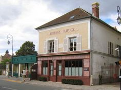 the inn in Auver-sur-Oise, north west of Paris where Vincent spent the last seventy days of his life from May 20th, to July 29th, 1890. He died in the attic room there.