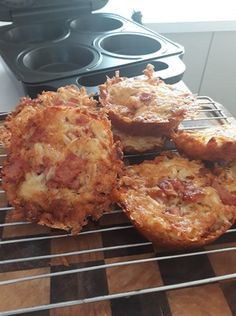 Cheese and Bacon Hash Browns