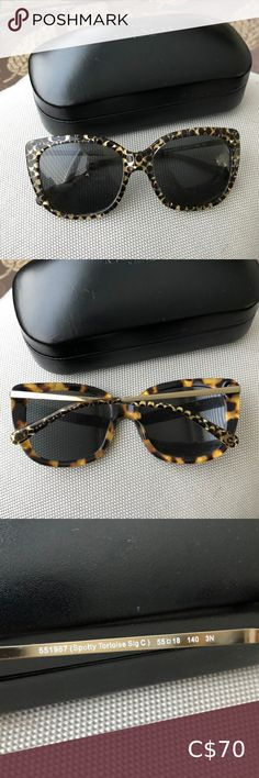 Free People Sunglass black Plastic Squared Pointy Side Frames Gray Len NEW