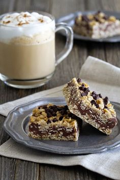 No Bake Chocolate Peanut Butter Oatmeal Bars are easy to make and easier to eat! What a delicious snack for everyone to love.