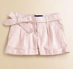 Ralph Lauren seersucker shorts...LOVE THESE