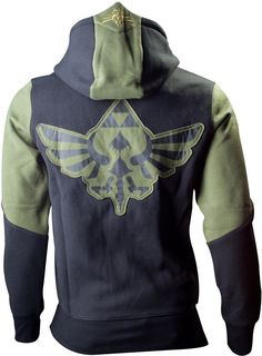 The Legend of Zelda - Hooded Sweater Green Character (L): Amazon.ca: Sports & Outdoors