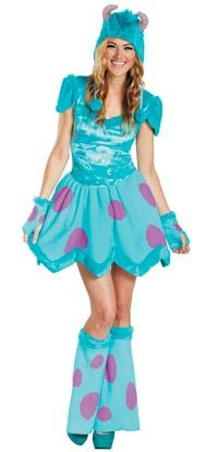 Sassy Sulley Adult Costume - Halloween Costumes
