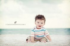 Must get a picture of Hudson like this at the beach this summer