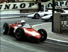 Phil Hill, Monaco 1961, 156 Shark Nose Ferrari