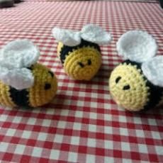 fuzzy little bees