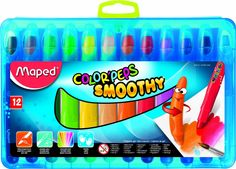 Amazon.com : Maped Color'Peps Smoothie Gel Crayons, Pack of 12 (836112) : Office Products. Also at Blick online. Approx. $9.