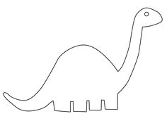 Printable Dinosaur Patterns | dinosaurapplique downloadable or on ...