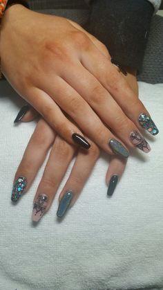 Courtney Class Ring, Nails, Beauty, Jewelry, Finger Nails, Jewlery, Ongles, Bijoux, Jewerly