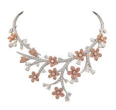 Van Cleef Necklace | Van Cleef & Arpels - Souffle de printemps necklace | Flickr - Photo ...
