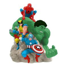 #Marvel Superheroes Cookie Jar