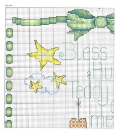 Gallery.ru / Фото #7 - 203 - markisa81 Elephant Cross Stitch, Cross Stitch Baby, Cross Stitch Animals, Cross Stitch Charts, Cross Stitch Patterns, Everything Cross Stitch, Baby Blanket Crochet, Baby Patterns, Cross Stitching