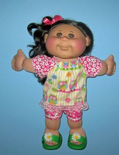 Cabbage Patch Kids  Doll Clothes  Owls and by Dakocreations