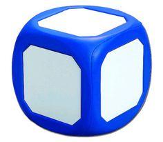 MAGNETIC WRITE-ON WIPE-OFF DIE BLUE