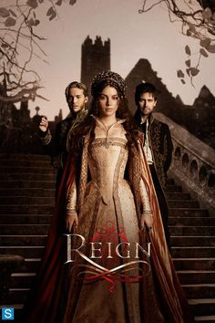 Reign I love the hair, makeup, and dresses of this show!