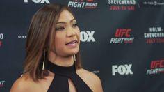 Unedited Michelle Waterson full media scrum at UFC on FOX 20