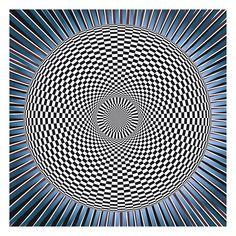 Op Art   op art double circle
