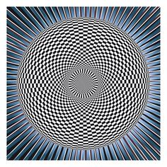 Op Art | op art double circle