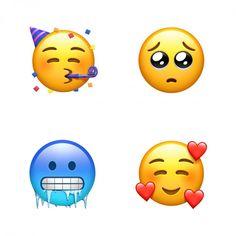 These New Emoji Are Hitting iPhone, iPad, and Mac Ios Emoji, Iphone Emojis On Android, Emoji Wallpaper Iphone, Cute Emoji Wallpaper, Tumblr Wallpaper, Apple Emojis, New Emojis, Smileys, Animes Wallpapers