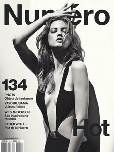 Lindsey Wixson - Photo: Sebastian Kim for Numero June/July 2012 such a different look for her. Fashion Magazine Cover, Fashion Cover, Magazine Cover Design, Magazine Covers, Fashion Tape, Lindsey Wixson, Pose Mannequin, Gq, Sebastian Kim