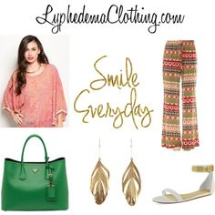 Lymphedemaclothing- apparel by styleq on Polyvore featuring CHARLES & KEITH, Prada and Aurélie Bidermann