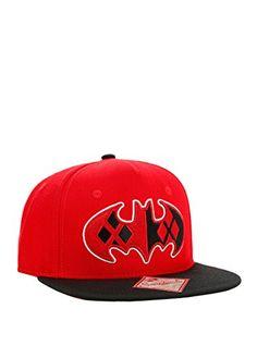 DC Comics Batman Harley Quinn Logo Snapback Hat Joker Outfit 4b2a6aacef