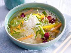 Asia-Suppe - Pho Bo, Tom Khaa Gai und Co. - asiatische-reis-suppe  Rezept