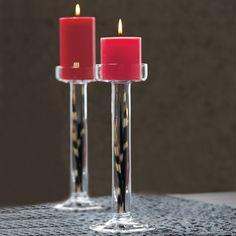 Duftwachsglas- & Pillar-Kerzenhalter Clearly Creative, Paar