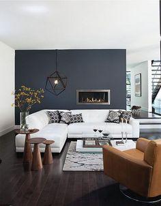 Modern Monochrome Living Room Ideas (13)