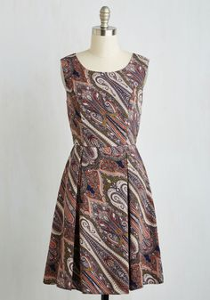 I Rest My Grace Dress in Swirls, #ModCloth
