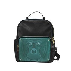 Forest Green Orangutan Campus backpack/Small (Model 1650)