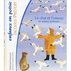 Jacqueline Duheme:絵 Jacques Prevert:著 / Le chat et l'oiseau et autres poemes - 児童書、絵本 -【garitto】