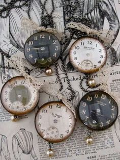 ♥ old time pieces