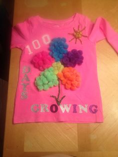 100 days of school shirt! What a fun project.