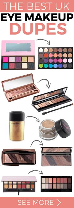 Find the best eye makeup dupes in the UK with our awesome list...