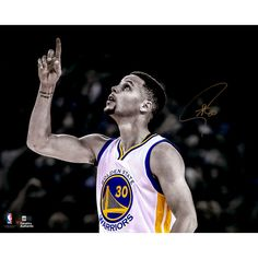 """Stephen Curry Golden State Warriors Fanatics Authentic Autographed 16"""" x 20"""" Record Breaking Game Photograph - $449.99"""
