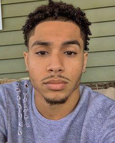 @9Bratz Fine Black Men, Gorgeous Black Men, Cute Black Guys, Just Beautiful Men, Handsome Black Men, Beautiful Men Faces, Pretty Men, Fine Men, Black Boys