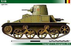 T.15 Military Art, Military History, Heavy And Light, Tank Design, World Of Tanks, Ww2 Tanks, Military Equipment, Panzer, Armored Vehicles