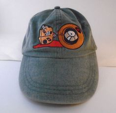 South Park Comedy Central They Killed Kenny Green Strap Back Hat Vintage  1998  ComedyCentral   65e86045e1f7