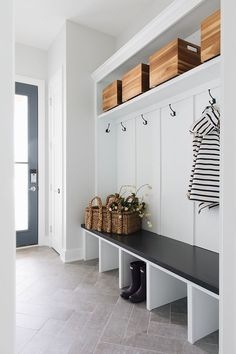 My fav and included in pretty much every M House mudroom fl… Herringbone pattern. My fav and included in pretty much every M House mudroom floor.